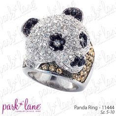 Panda Ring $136, could be yours for only 12 dollars. Shop online at www.myparklane.com/adewitt
