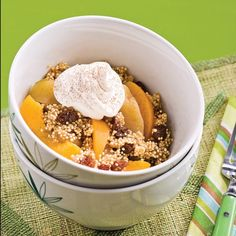 Quinoa aux saveurs d'automne Saveur, Nutrition, Acai Bowl, Cereal, Oatmeal, Allie, Breakfast, Desserts, Texture