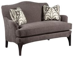 Sofa Accents Contemporary Styled Settee Sofa by Fairfield at Olinde's Furniture