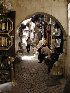 Fes Morocco. http://www.lonelyplanet.com/morocco/the-mediterranean-coast-and-the-rif/fes/sights/market/attarine-souks