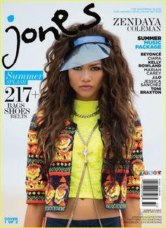 Zendaya: Jones Mag's Summer Cover Girl! | zendaya jones mag summer cover 01 - Photo Gallery | Just Jared Jr.