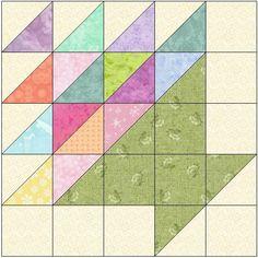 Easter Basket Quilt Block Pattern Download