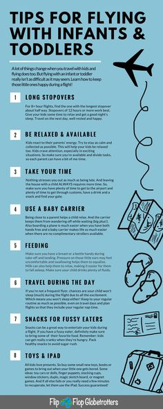 Tried and tested tips for flying with kids