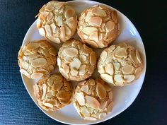 These delicious Almond Cookies are both Gluten and Dairy Free. They contain just 5 ingredients! They are crunchy, chewy, and easily made in 30 minutes. Gluten Free Almond Cookies, Dairy Free Cookies, Almond Recipes, Dairy Free Recipes, Chocolate Chip Recipes, Cookies Et Biscuits, Almond Flour, Cake Recipes, Recipes