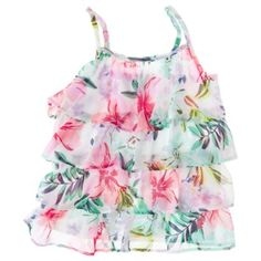 Girls' Chiffon Tank Top