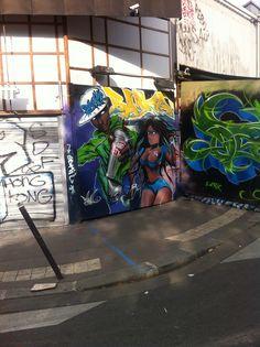 Art de rue - Pte de Clignancourt - Paris