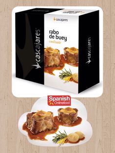 [ES] Rabo de Buey Asado. [EN] Oxtail Roast. http://www.spanishonlinefood.com/en/preserves/oxtail.html [FR] Queue De Bœuf Rôti. [DE] Ochsenschwanz Braten. #Sof #ComidaEspañola #España #RaboDeBuey #Asado #SpanishFood #Spain #Oxtail #Roast #Espagne #NourritureEspagnole #QueueDeBœuf #Roti #Spanien #SpanischesEssen #Ochsenschwanz #Braten #TypischSpanisch #Gourmet #Delicatessen #Yummy #Food #Foodies #Instafood #Instagood @tierradesabor Spanish Food Comida Española