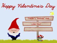 Homemade Gnome Valentines