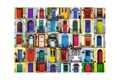 Puzzle Ravensburger - Usile Lumii, 1.000 piese (19524) Puzzle, Cabinet, Jelly Cupboard, Puzzles, Riddles, Cupboard, Puzzle Games, Closets, Closet
