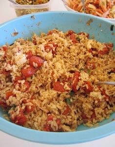 Roasted Tomato Brown Rice Salad