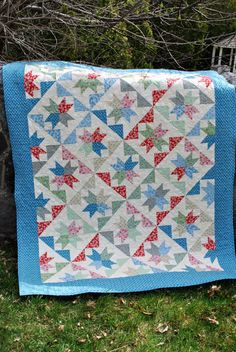 PDF QUILT PATTERN....Layer Cakes or Fat Quarters, The Brightest Star