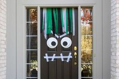Scare the Trick or Treaters before you even open the door by turning the porch into a horrible haunted house. Easy!