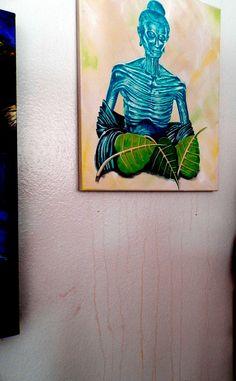 #miracle #painting #Buddha Seattle Phenomena