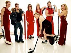 Sochi Style - US Olympic Women's Ice Hockey team Photo by Jeff Lipsky