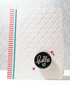 Created by Stephanie Klauck using the August 2013 Card Kit by Simon Says Stamp.  July 2013