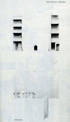 Hiroshi Yoshiuchi. Japan Architect 53 Feb 1978: 19