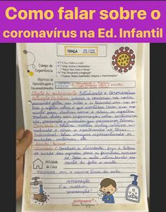 @Etieneprof: ATIVIDADES CORONAVÍRUS Leila, Sistema Solar, 1, Instagram, Sight Word Activities, Pastor, Index Cards, Cursive, Domingo