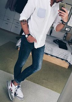 Hot on Instagram! 30,182 Likes so far. Men's Casual Street Styles