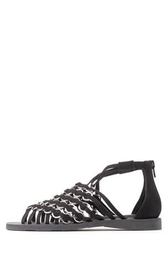 Jeffrey Campbell Shoes PULAU in Black Silver