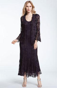 118e1a1382f Soulmates Bead Crochet Dress  amp  Jacket - Nordstrom Shop (mother of the  bride dresses