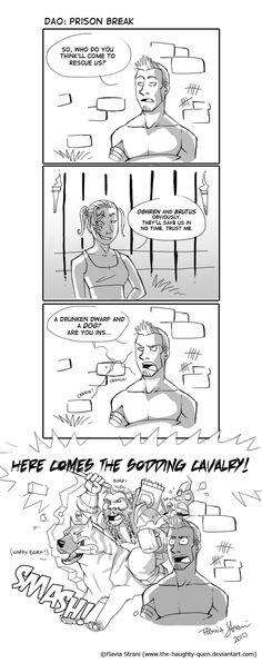DAO Comic 01 by HaughtyFlaki.deviantart.com on @deviantART