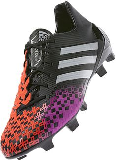 Adidas Predator LZ II, New soccer cleats with an even better design for more touch and feel of the ball.