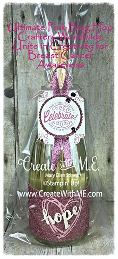 Welcome to the first ever Ultimate Pink Blog Hop – My name is Mary Ellen (M.E.) Stites and I am happy you stopped by! Today I am just one stop in a collection of amazing ideas from Stampin' Up! demonstrators...