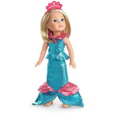 American Girl Marvelous Mermaid Outfit for WellieWishers Dolls