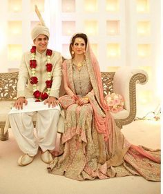 South Asian Bride & Groom – They look fantastic! #southasianwedding #desiwedding