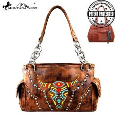 MW261G-8085 Montana West Concealed Handgun Collection Handbag - New Arrival