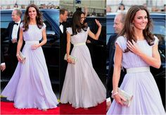 Kate Middleton - Alexaner McQueen. BAFTA Awards 2011