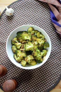 Brokuły pieczone z czosnkiem   Przepis   Kuchenne przygody