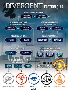 I'm Divergent know you see what you are