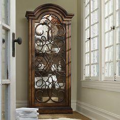 Hooker Melange Arabesque Display Cabinet HO-638-50088