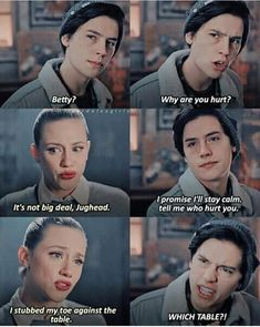 The post appeared first on Riverdale Memes. - The post appeared first on Riverdale Memes. The post appeared first on Riverdale Memes. Memes Riverdale, Bughead Riverdale, Riverdale Funny, Dank Memes Funny, Funny Relatable Memes, Hilarious Quotes, Riverdale Wallpaper Iphone, Sprouse Bros, Riverdale Betty And Jughead