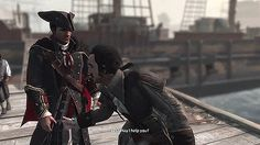 Charles Lee's inner thoughts (aka his crush on the Grand Master Haytham Kenway). Assassin's Creed III.