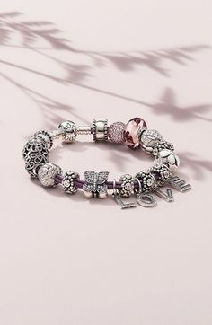 PANDORA bracelet & charms #mothersday @Nordstrom