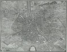 HUGE Paris Map.