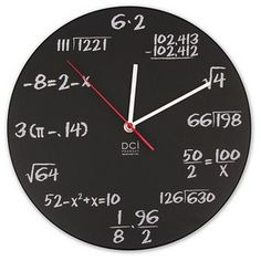 i am surprised that they didn't replace all the clocked in college algebra with these and force us to learn how to tell time this way @Kimberly Reay