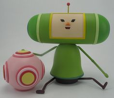 Katamari Kokeshi Damacy by Yomek, via Flickr