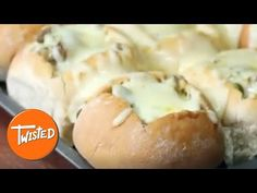 Philly Cheesesteak Slider Bowls - Twisted