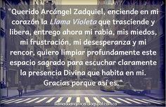 Llama violeta   Arcángel Zadquiel   Llamado Angelical