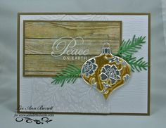 Rustic Ornament by whippetgirl - Cards and Paper Crafts at Splitcoaststampers