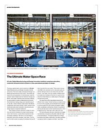 UI Labs. Commercial furnishings provided by KAYHAN.  www.kayhan.com
