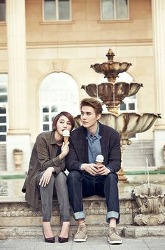 Lee Dong Wook and Yoo In Young relax in style for PAT