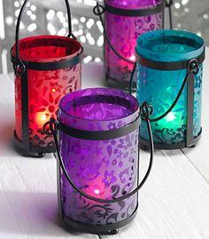 pretty garden lanterns