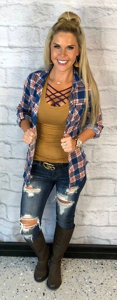 03bd821867b917 35 Best Cute Flannel Outfits images in 2015 | Casual outfits, Fall ...