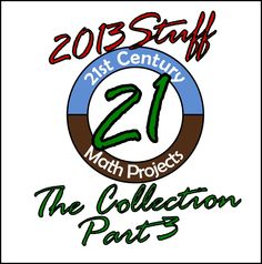 21st Century Math Projects 2013 Collection Now Live!