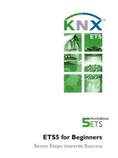 ETS5 para principiantes.  Descripción sencilla de los menús del software ETS5 en 7 pasos Software, Success