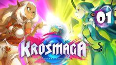 Jugando a Krosmaga | 01 - Mi primerita ves, asi que con delicadeza xD #krosmaga #tcg #card #hearthstone #online #games #directo #juegos online